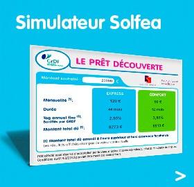 Simulateur  prêt solfea