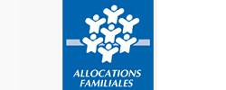 caf caisse allocations familiales logo