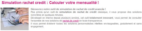 simulation rachat de crédit Credigo