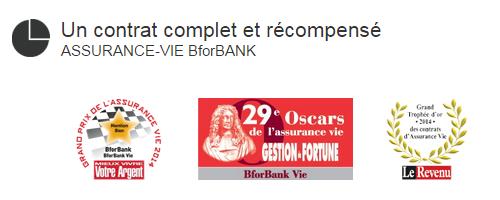 contrat bforbank vie