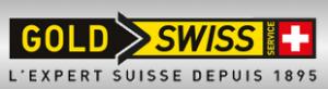 gold swiss service logo