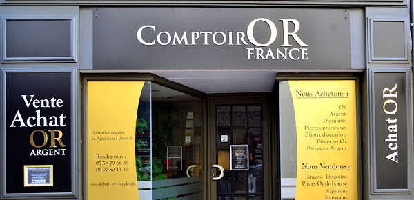 comptoire rachat d'or paris