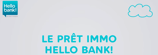 prêt immobilier hello bank