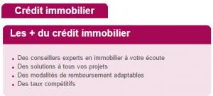 avantages crédit immobilier groupama banque