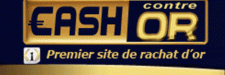 cash contre or logo