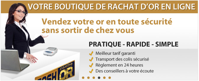 rachat d'or cash contre or