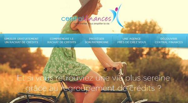 rachat de crédit Central Finances