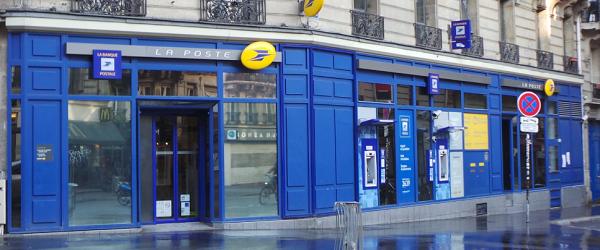 agence bancaire la poste