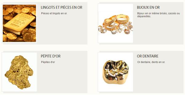 rachat de lingots et bijoux en or