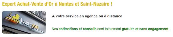 Services achat d'or Lingor