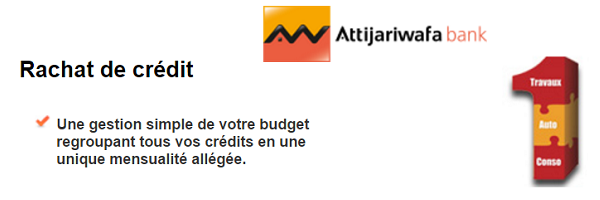 rachat de crédit Attijariwafa bank