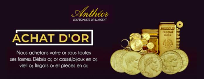 rachat d'or Antheor Paris