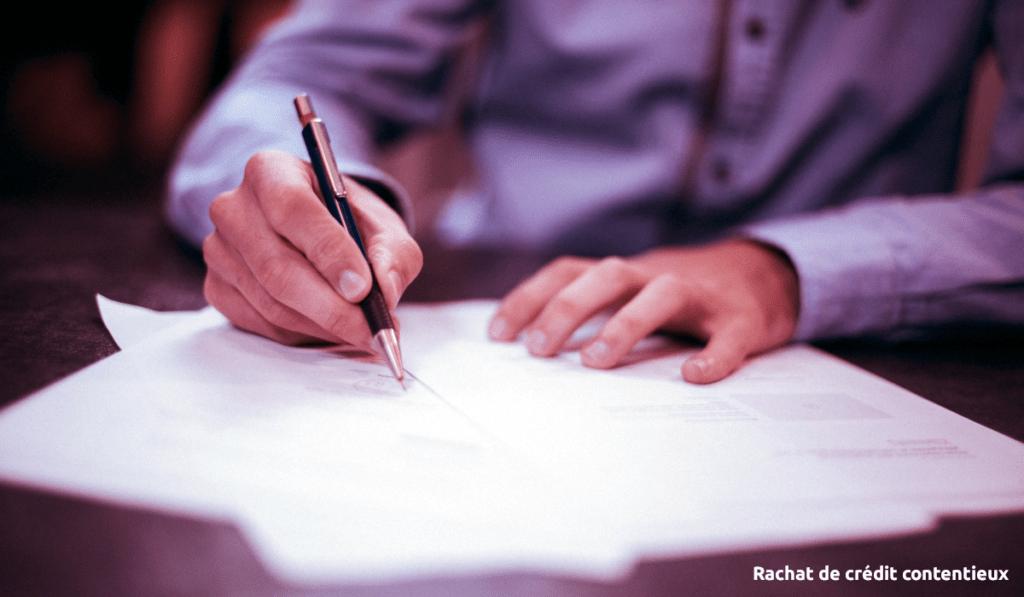 rachat de crédit contentieux