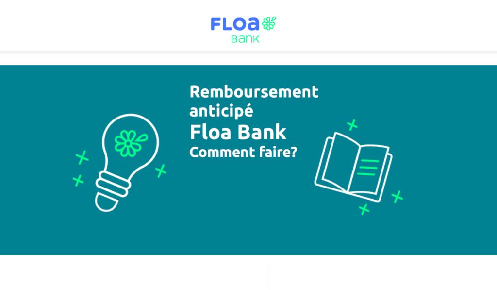 remboursement anticipé Floa Bank